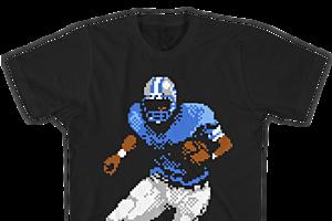 Barry Sander Tecmo Bowl video-game