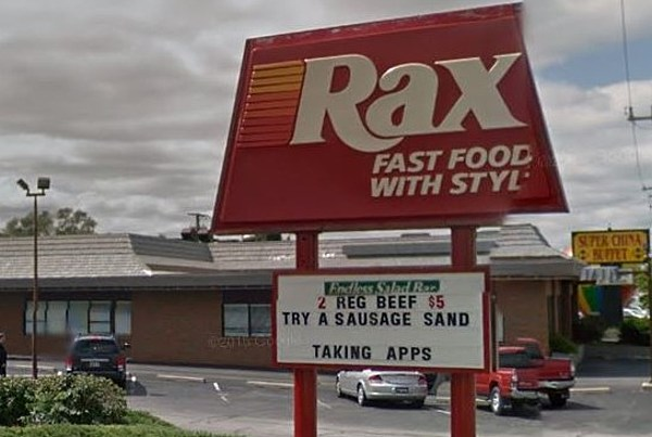 Do You Remember Rax Roast Beef Restaurants