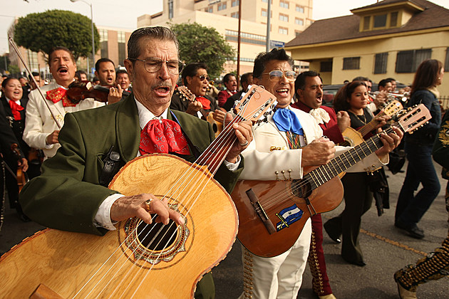 Mariachi Bands Honors The Patron Of Music, St. Cecilia