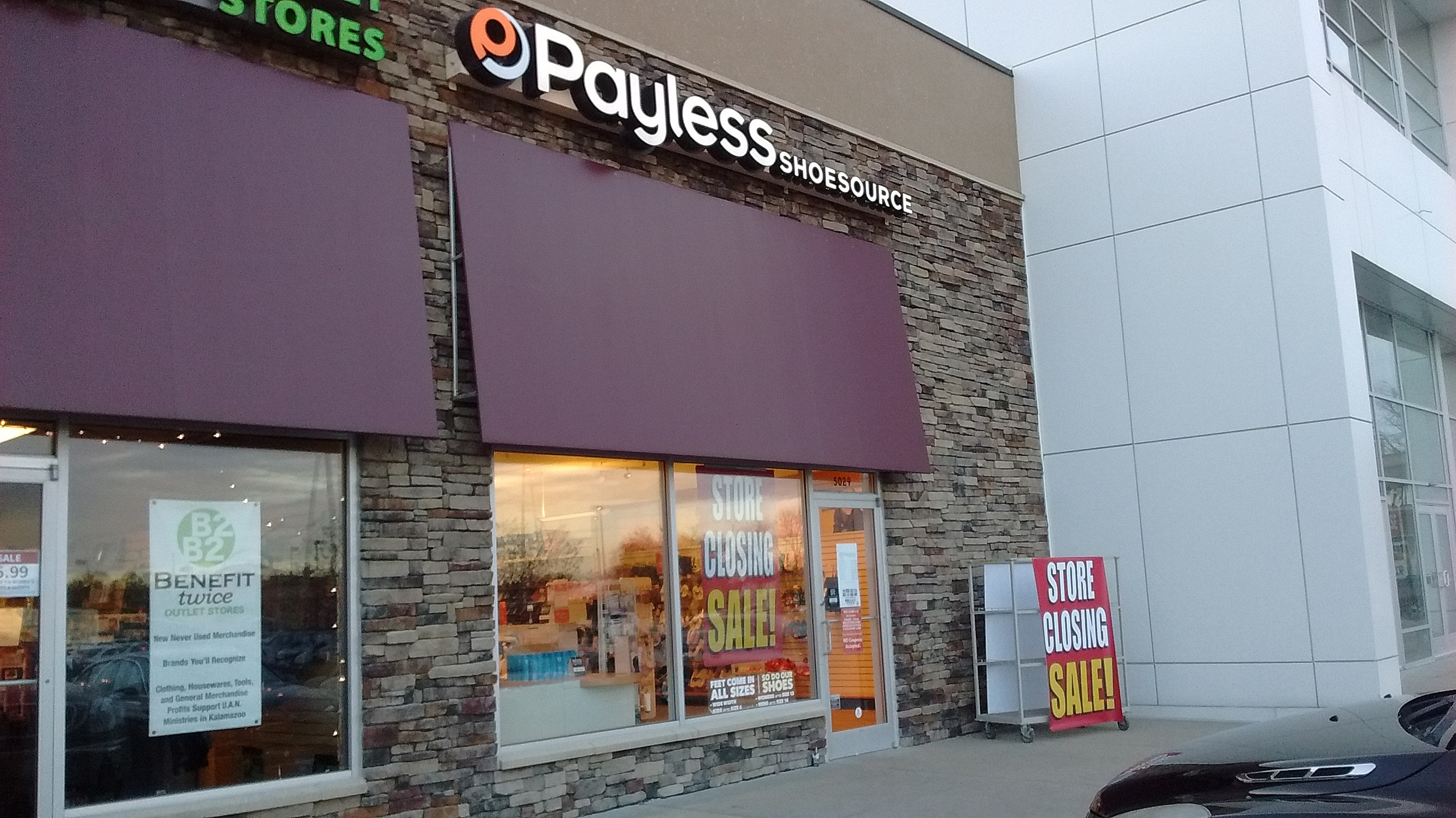 Payless ShoeSource to close all its U.S. stores, per report